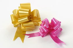 OASIS® 50mm Poly Ribbon Satin Pull Bows